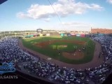 St. Paul Saints Set World Record for Largest Pillow Fight!