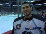 Milwaukee Admirals' goaltender discusses fan noise
