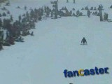 Paralyzed from the waist down, fearless competitor skis down mountain