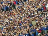 Kansas fans going nuts