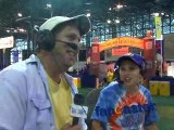 Fan provides color commentary of Mets World Series victory