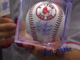 Red Sox fan happy to score Fred Lynn autographed ball