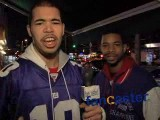Giants fans forecast victory over Patriots in Superbowl