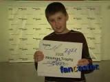 Tim Tebow Fan Scores Autograph