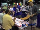 Pittsburgh Steelers Fan Scores Autographs On Three Rivers Stadium Seat