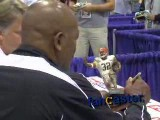 Fan Scores Autograph From Jim Brown