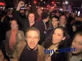 """Ole Ole Ole"" After Giants Win 2008 Super Bowl"