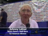 Johnny Lattner, 1953 Heisman Trophy Winner