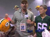 Diehard Packers Fans Capture Autographs
