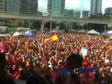 World Cup Fans in Miami Rally after Spain Scores Goal