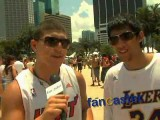 Heat Fans Excited About LeBron