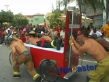 Firemen are Big Draw at Bed Race