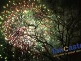 Fireworks at Midnight Run in Central Park