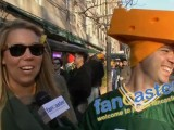 Hours Before Kickoff.....Diehard Packers Fans Stand in Line