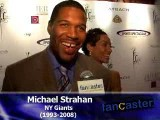 5-time All Pro and FOX Television Broadcaster, Michael Strahan,