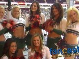 Houston Aeros Cheerleaders Celebrate Goal