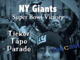 Thousands Attend Ticker Tape Parade