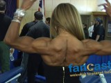 Karina Flexes Her Muscles