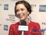 Actress Emily Blunt at Tribeca Film Festival