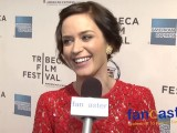 Actress Emily Blunt at Tribeca Film Festival