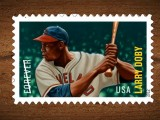 Larry Doby Forever Immortalized by United States Postal Service