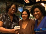 Willie Stargell's Daughters at The Unveiling of  Dad's New Postage Stamp