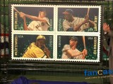 MLB All Stars Stamps Unveiled in Cooperstown