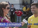 Mark Consuelos Plays Soccer